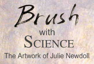 Brush with Science Logo